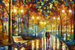Melody of the Night Leonid Afremov Colorful Art Wall Room Poster POSTER 24x36 $18.99