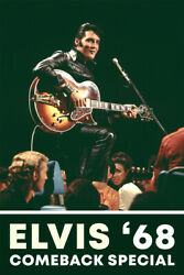 Elvis Presley #x27;68 Comeback Special Rock King Art Wall Room Poster POSTER 24x36 $18.99