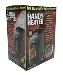 Handy Heater Plug in Personal Heater Compact Design Quick and Easy Heat $13.95
