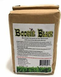 Boogie Brew Organic Insect Frass 1 Lb Black Soldier Fly Larvae Derived Exudate $14.95
