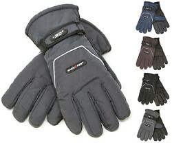 Heavy Duty Mens Ski Gloves Winter thermal Insulate Wind Water Proof Cold Weather $12.99