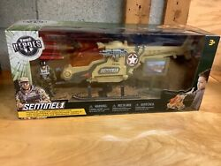 NEW SEALED True Heroes Sentinel 1 Mobile Squad Helicopter TOYS R US 2015 $25.00
