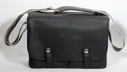 Oberwerth Munchen Large Camera Bag Black Full Leather for Leica or Other $699.00