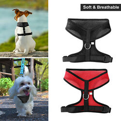 No Pull Mesh Soft Puppy Pet Small Dog Harness Adjustable Vest Breathable S M L $6.95