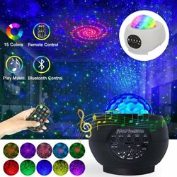 LED Galaxy Starry Sky Ocean Wave USB Night Lamp Projector Home Party Light Decor $31.99
