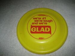 Vintage Collectible Wham O GLAD Bags Frisbee $17.99