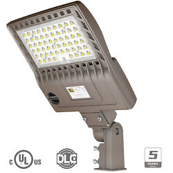 IP65 LED Commercial Road Street Light 150W 200W Flood Shoebox Industrial Lamp UL