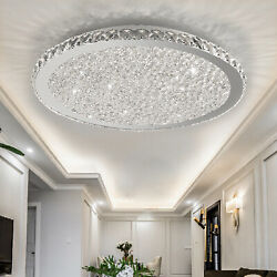Modern Crystal LED Ceiling Light Bedroom Lamp Flush Mount Lighting Chandelier $84.60
