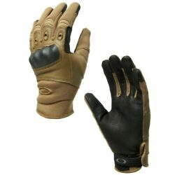 New Oakley Factory Pilot Coyote Tactical Gloves LARGE $39.95
