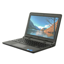 Dell Chromebook 11 3120 11.6quot; Touchscreen Laptop N2840 2.16GHz 4GB DDR3 16GB SSD $109.99