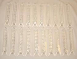 LOT OF 20 6quot; ACRYLIC MODERN CHANDELIER PRISMS LAMP LIGHT FIXTURE CRYSTALS $8.95