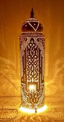 Handmade Moroccan Brass Floor Lamp Shades $164.98