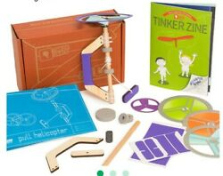 Kiwico Tinker Zine Helicopter Flight Without Factory Packaging New Free Shipp $16.99