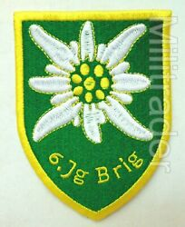 Austria Austrian Armed Forces Army 6th Brigade Mountain Patch $8.95