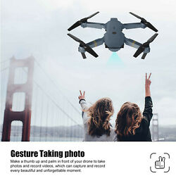 4K Foldable Drone With FPV HD Camera 2.4G 6 Axis RC Quadcopter APP Controller $48.99