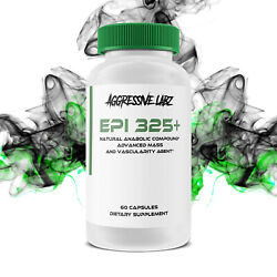 Aggressive Labz EPI 325 Epicatechin Extract for Strength Lean Mass and Power $29.95