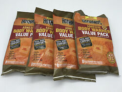 32 HotHands Large Body Warmers With Adhesive Back Heat Pack 12 Hours Exp 09 23 $22.99