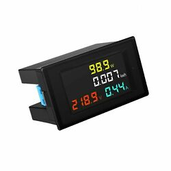 DROK AC Power Meter AC 80 300V 100A Voltage Current Color LCD Display Panel... $28.63