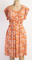 Apostrophe Stretch Orange Dress Size XL