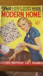 MODERN HOME magazine Jan 1938. AU $35.00