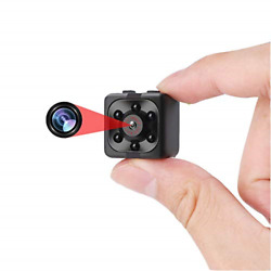 Mini Camera Nanny Camera Portable Small Camera Compact Indoor Outdoor Security $52.88