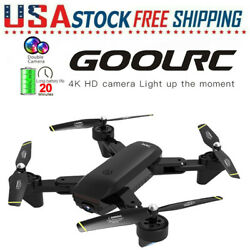 GoolRC SG700 D FPV RC Drone Camera 4K HD Wide Angle Follow Me Quadcopter Gift $44.28