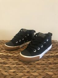 Converse All Star Toddler Unisex High Top Black Sneakers Size 13 $10.00