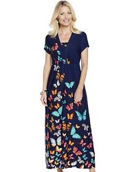 Ladies Maxi Dress Length 48 Inches $64.99