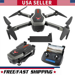 RC Quadcopter GPS 4K Drone Camera 5G Wifi FPV Optical F low Positioning US T9M1 $127.88