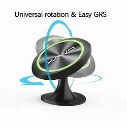 New Magnetic Car Phone GPS Mount Stick On Dashboard 360° Rotation Black Green $13.65