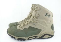 Under Armour Men#x27;s UA Tabor Ridge Mid Waterproof GORE TEX® Boots Sand Dune Green $59.40