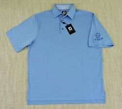 FOOTJOY GOLF LISLE NWT Mens Large Light Blue ProDry Classic Swing S S Polo Shirt $26.99