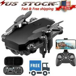 RC Drone Camera 4K WiFi FPV Altitude Hold Headless Mode QuadcopterBag Toy B8G9 $40.49