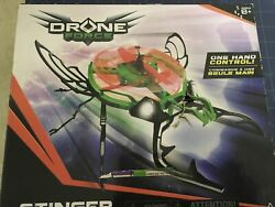 Toy Drone Force Stinger 2 Channel Indoor Drone Helicopter Toy Fun At Home $21.99