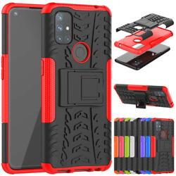 For OnePlus Nord N100 N10 5G Shockproof Rugged Hybrid Armor Kickstand Case Cover $8.67