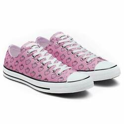 Converse Hello Kitty Chuck Taylor All Star High Top Shoes White W7.5 Mens 5.5 $54.99