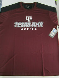 NCAA Texas Aamp;M Aggies Champion Impact Color Blocked T Shirt Large NWT New $12.99