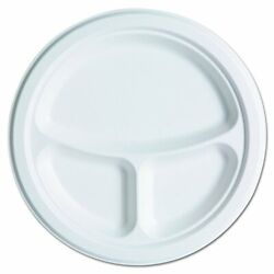 Eco Products Renewable amp; Compostable Sugarcane Plates Club Pack 10 inch w... $110.11