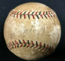 Babe Ruth Official Vintage National League Spalding Baseball Auto JSA Letter $3900.00