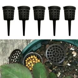 50 100*Plastic Fertilizer Baskets Cover Box Bonsai Home Garden Plant Care Accs C $14.54