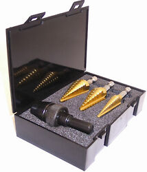 MSD HEX SET Champion Champion Impact Ready Hex Shank Step Drill 3 Piece Set $142.64
