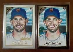 2019 Topps Gallery Jeff McNeil Rc Wood Border Sp amp; Artist Proof Rc SP Mets $10.95