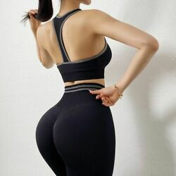 Fitness Activewear Women Sportswear Tops Legging Shapewear Yoga Suit $32.73