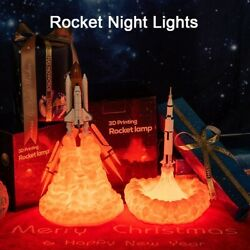 Space Shuttle Lamp In Night Light By 3D Print for Space Enthusiast $31.08
