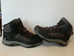 Columbia Mens 100Mw Mid Outdry Black Hiking Boots Size 11 $49.99