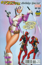 GWENPOOL HOLIDAY SPECIAL #1 MIDTOWN EXCLUSIVE J SCOTT CAMPBELL VARIANT COVER $10.99