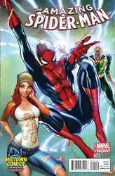 AMAZING SPIDER MAN #1 MIDTOWN EXCLUSIVE JSC CAMPBELL VARIANT FREE SHIPPING AVAIL $14.99