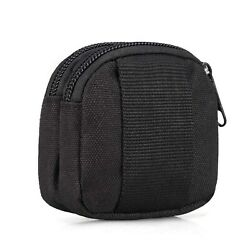 Small Outdoor PouchMini Purse Organizer Army Molle Gear Waterproof Dual Layer $8.86
