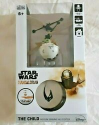 Star Wars the Mandalorian Motion Sensing Helicopter The Child Disney New in Box $24.99