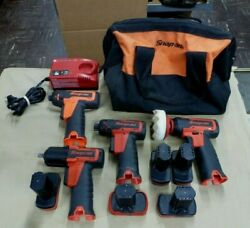 Snap On CTPP761A CTS725 CTS761O CT761A 14.4V Cordless Set w 5 Batts amp; Charger $899.99